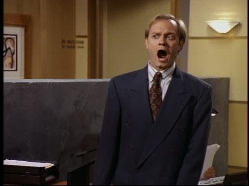 Niles Crane de la serie Frasier
