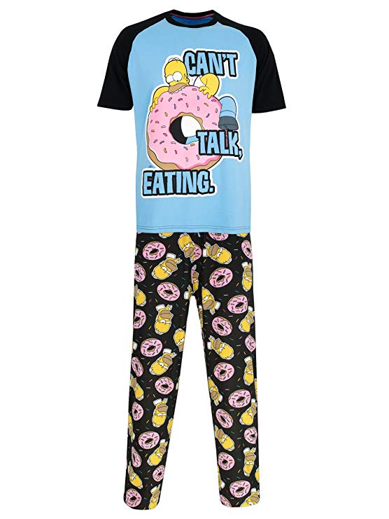Comprar pijama de Homer Simpson cant talk eating