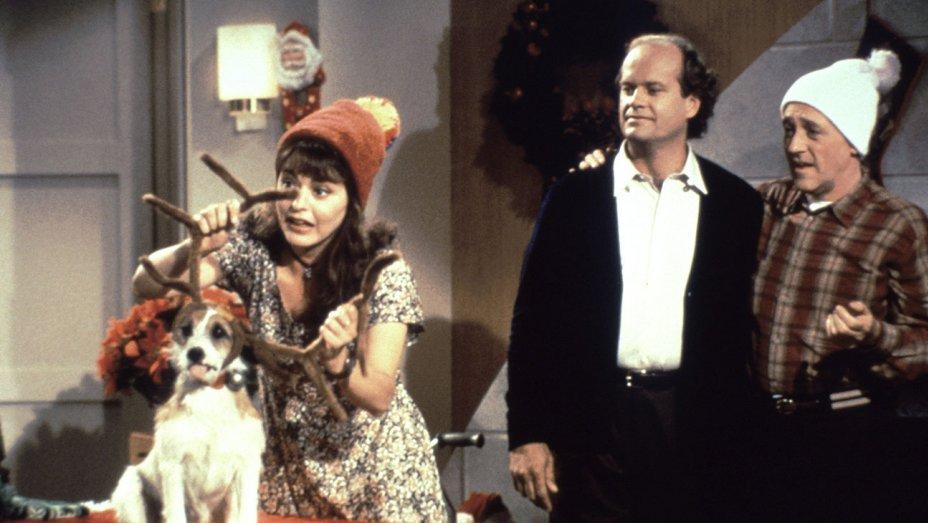 Escena de Navidad en Frasier