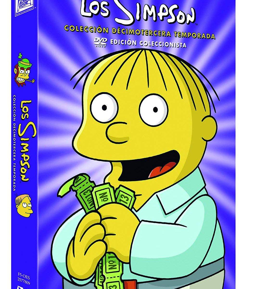 Ver temporada 13 de los Simpsons