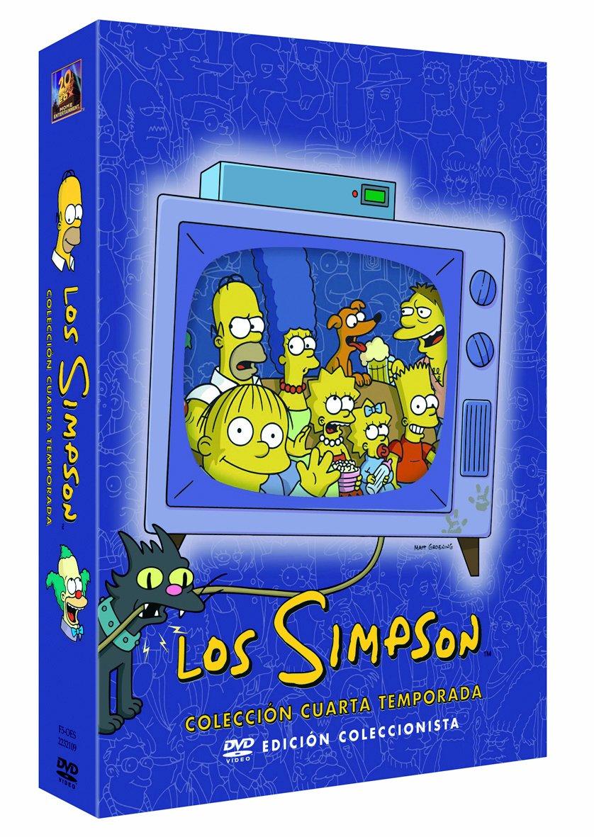 ver la serie los simpsons temporada 4 en castellano