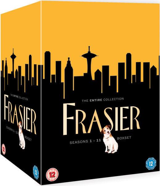 Comprar serie completa de Frasier en inglés