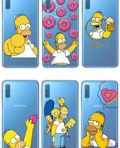 Ver todas las fundas de móvil de Homer Simpson
