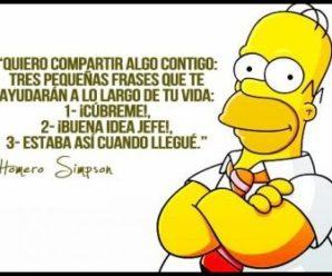 Las frases más populares de Homer Simpson