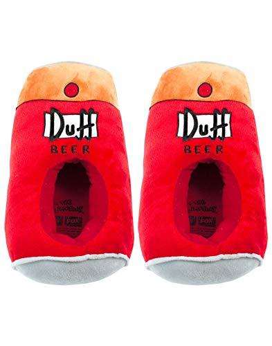 zapatillas de los Simpsons de cerveza Duff