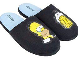 Comprar zapatillas de Homer SImpson negras