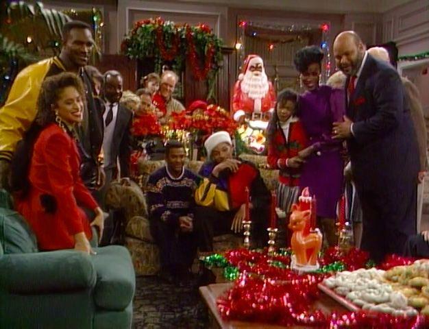 Navidad en la mansión de los Banks de la serie de tv