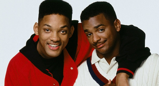 Will Smith y Carlton Banks