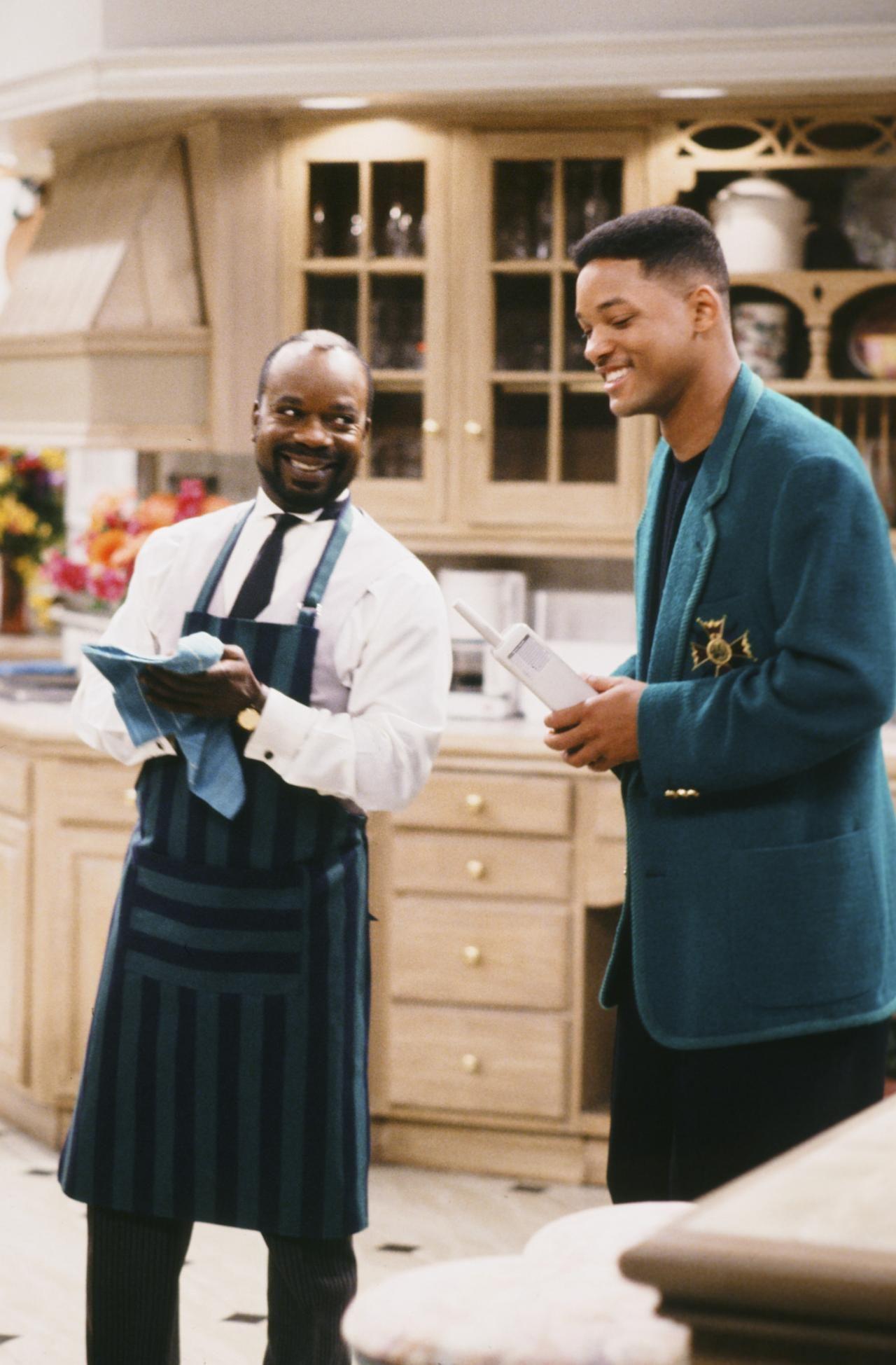 Will y el mayordomo Geoffrey