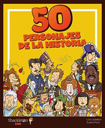"""Comprar libro """"50 personajes de la historia"""""""