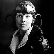 Personajes históricos mujeres, aventureros de la historia, Amelia Earhart