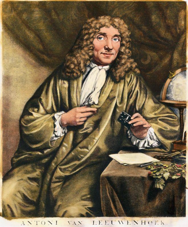 Anton Van Leeuwenhoek, personaje histórico