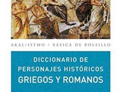 """Comprar libro """"Diccionario de personajes históricos griegos y romanos"""""""