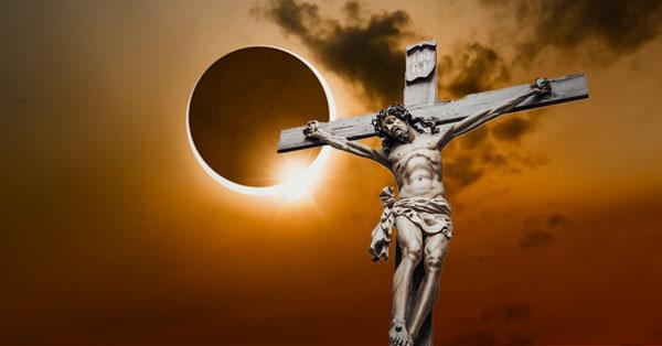 Eclipse durante la crucifixión de Jesús