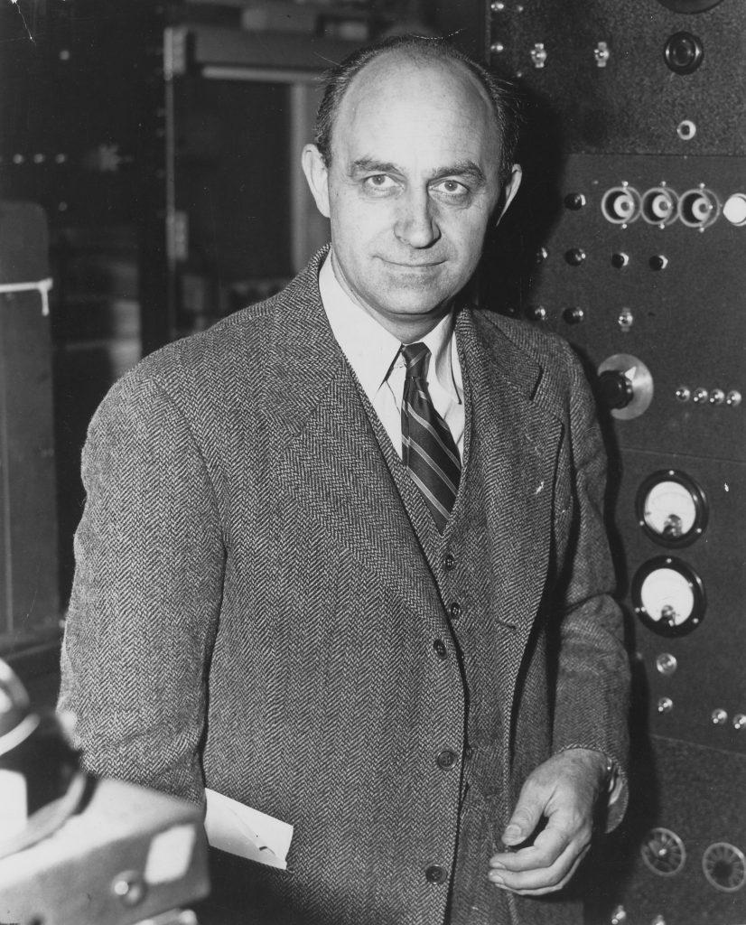 Personaje de la historia de la ciencia nuclear, Enrico Fermi