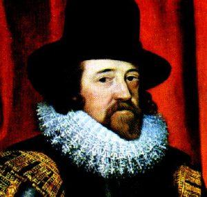 Nombres de personajes científicos ingleses en la historia, Francis Bacon