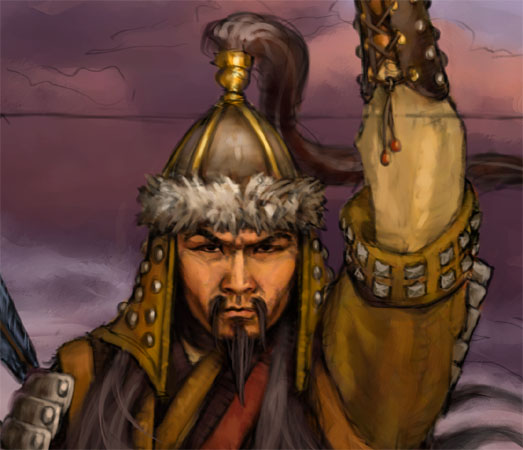 Personajes líderes históricos importantes, Gengis Khan