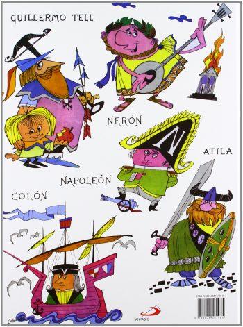 Libros sobre personajes históricos para niños
