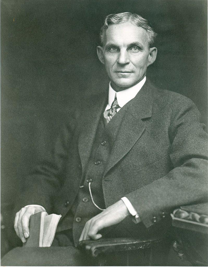 Henry Ford, Personajes históricos