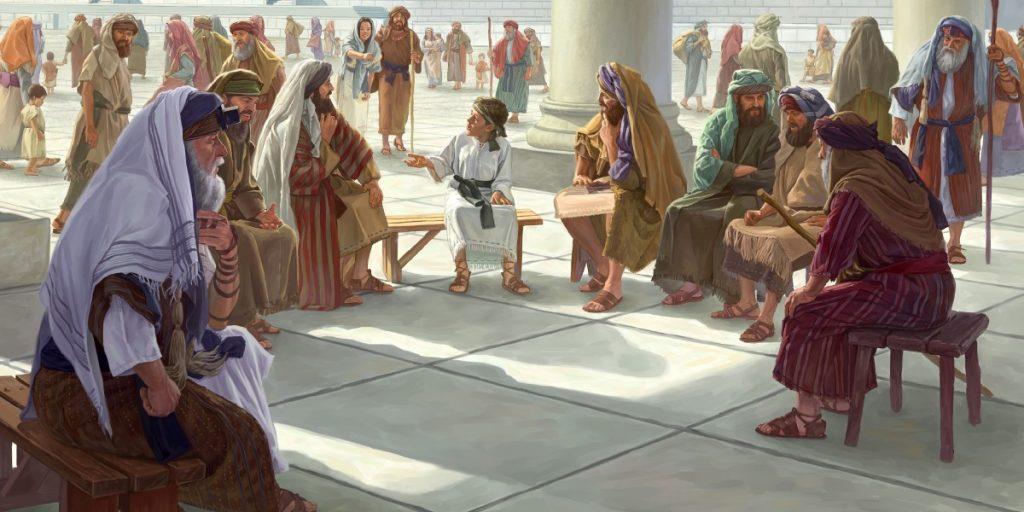 Jesús en el Templo con 12 años