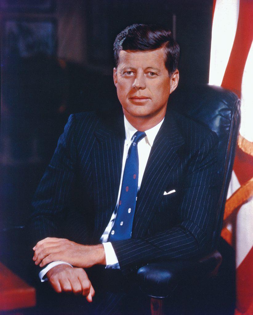 John F. Kennedy, grandes personajes de la historia