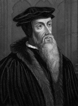 Juan Calvino, personaje histórico francés religioso