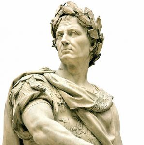 Líderes de la historia, Julio César