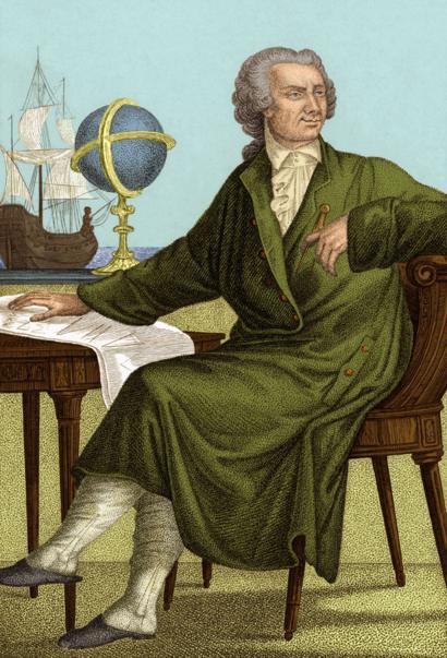 Leonhard Euler, Personajes de la historia