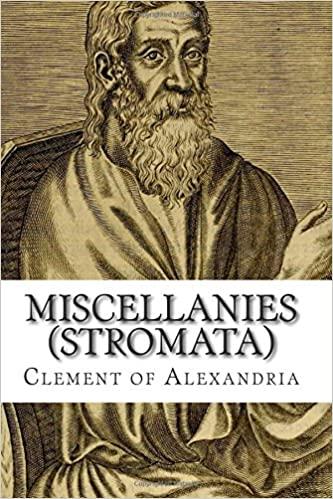 Comprar libro Stromata de Clemente de Alejandría. Menciones al día de nacimiento de Jesucristo.