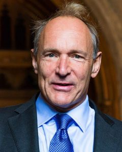 Nombres de científicos británicos importantes en la historia reciente, Timothy Berners Lee