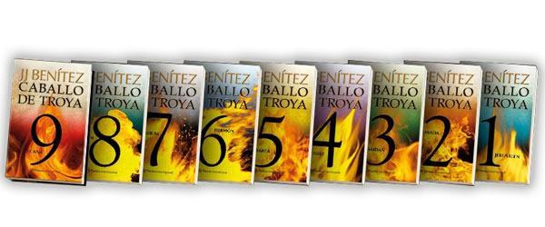 Volúmenes completos de la saga Caballo de Troya de J. J. Benítez