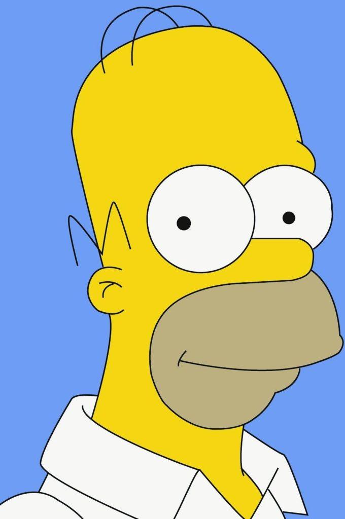 Creación del personaje de Homer Simpson