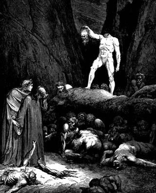 Personaje literarios más famosos de la historia, Dante Alighieri de La divina comedia