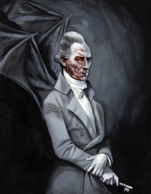 Personajes de la literatura más famosos, Conde Drácula