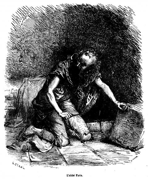 Personaje de El Conde de Montecristo, Edmundo Dantés