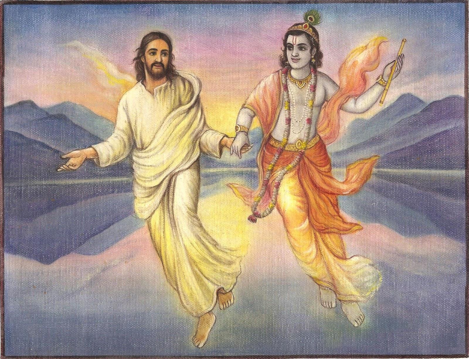 Años oscuros de Jesucristo. ¿Es Cristo igual que Krishna?