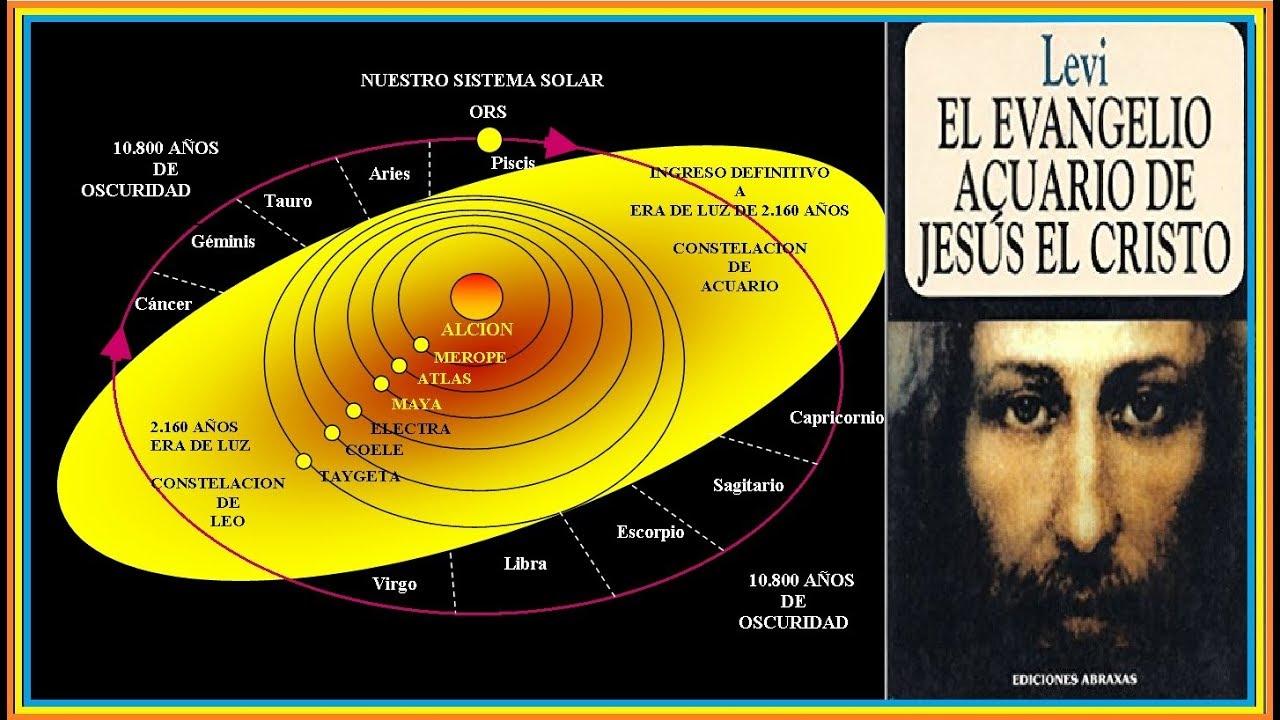 La vida de Jesús de Nazaret. Libro Evangelio de Acuario escrito por Levi H. Dowling.