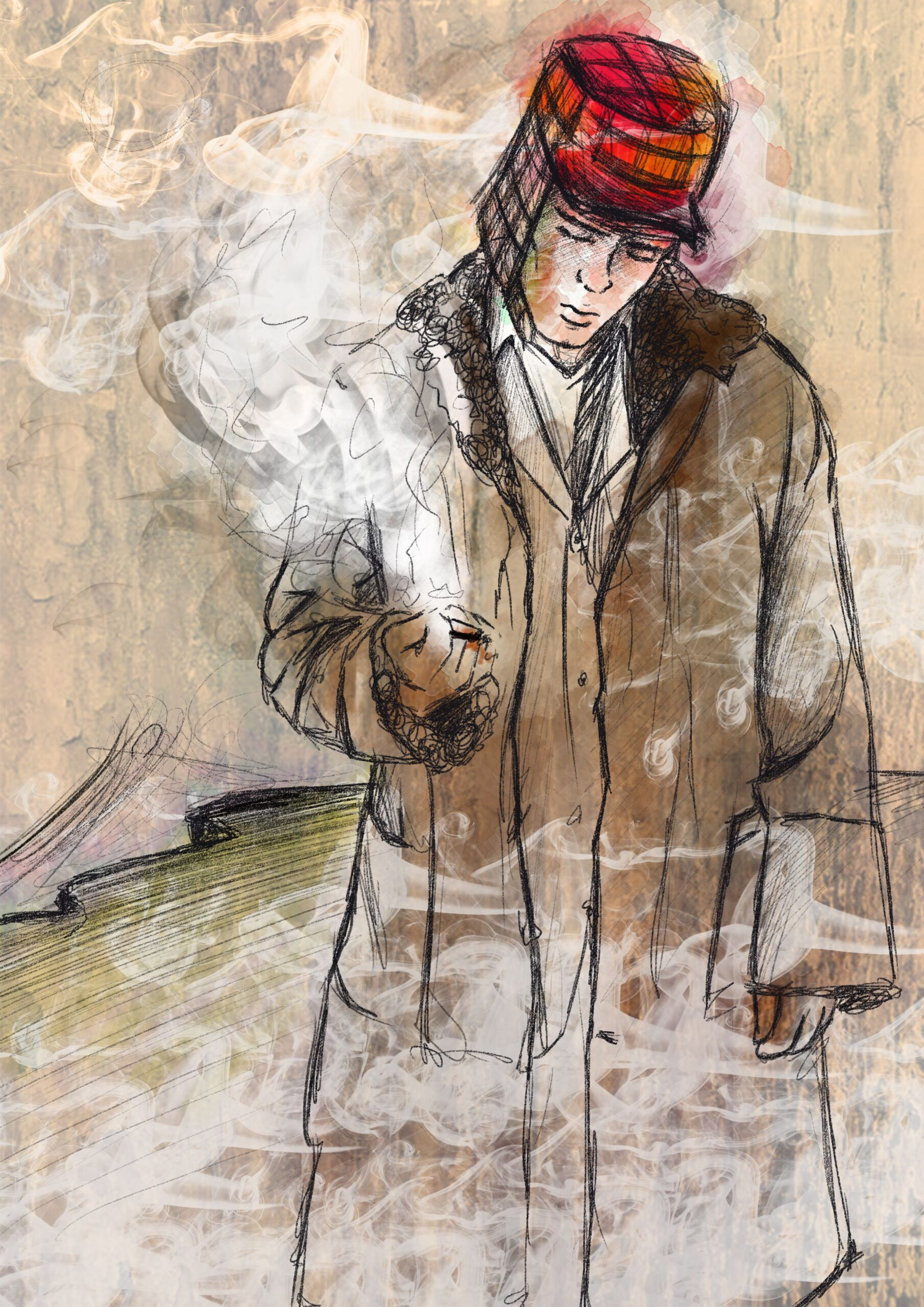 Personaje de Holden Caulfield de El Guardián entre el centeno