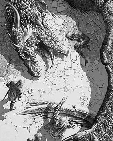 Ilustración del libro Fuego y Sangre