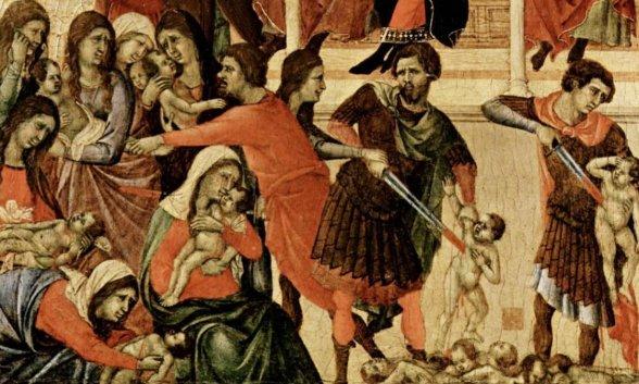 La huida de Jesús de Nazaret por la matanza de Herodes