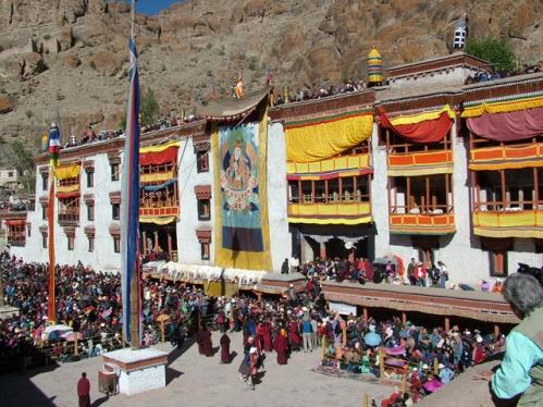 Monasterio de Hemis Ladakh en la India