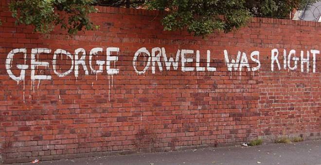 Las predicciones de Orwell se han hecho realidad