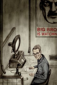 Personaje principal Winston Smith de George Orwell