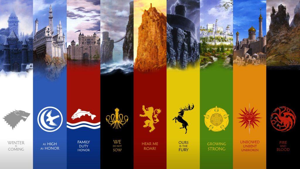Las casas de los Siete Reinos