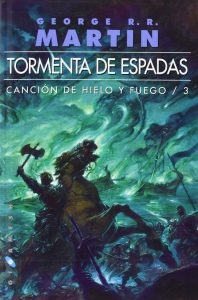 A song of Ice and Fire LIBRO 3 tormenta de espadas tapa blanda 1