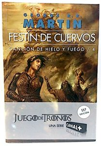A song of Ice and Fire LIBRO 4 Festín de Cuervos tapa blanda 2ª mano