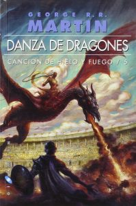 A song of Ice and Fire LIBRO 5 Danza de Dragones tapa blanda