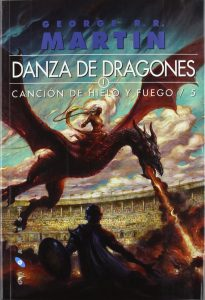 A song of Ice and Fire LIBRO 5 Danza de Dragones tapa blanda 2ª mano