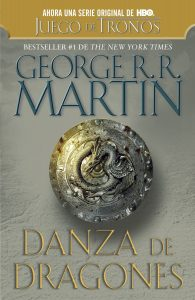 A song of Ice and Fire LIBRO 5 Danza de Dragones tapa blanda nuevo y 2ª mano