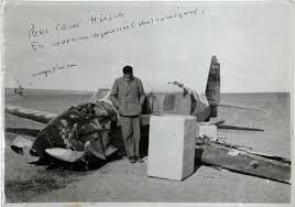 Accidente de Antoine de Saint-Exupéry en el Sahara
